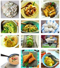 What are you going to make for Easter? I've selected 40 easy Asian Easter recipes for you that are best eaten in spring or summer. Most of these recipes come from Indonesian cuisine but other favorite Asian snacks are also included. Veggie Recipes, Indian Food Recipes, Asian Recipes, Cooking Recipes, Ethnic Recipes, Veggie Food, Cooking Tips, Indonesian Cuisine, Indonesian Recipes
