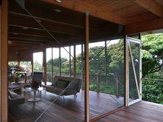 Kehena Vacation Rental - VRBO 101555 - 2 BR Puna District House in HI, Hale 'Ohai: Unique Modern Tropical Architectural Gem