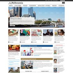 Create the next website design for Melbournia