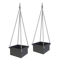 2er SET: Hängeampel zum Aufhängen mit Seilen Metall
