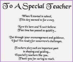 7 Best Special thank you to my Favorite teacher images | Teacher