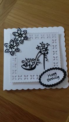 Handmade Birthday Cards, Greeting Cards Handmade, Tattered Lace Cards, Beautiful Handmade Cards, Die Cut Cards, Card Designs, I Card, Carrots, Wrapping