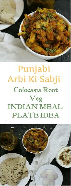 Easy colocasia root/