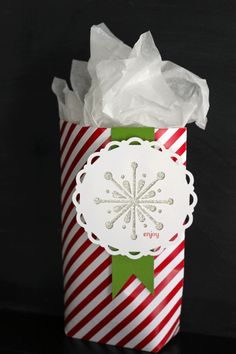 My Digital Studio | e-cutter to create holiday gift tags