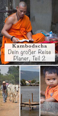 Teil 2: Dein großer Reise Planer für Kambodscha. Alles, was du für deine Kambodscha-Reise wissen solltest: Infos, Land, Leute, Visum, Sicherheit, Kosten & Budget, Unterkünfte, Transport & vieles mehr. Für die perfekte Reiseplanung für Backpacking in Kambodscha. #Kambodscha #familienreiseblog