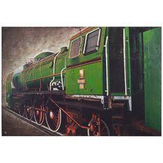John Richard Renaud Locomotive Artwork