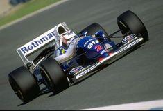 Nigel Mansell                                      WILLIAMS FW16B                                RENAULT  RS6 (NA3.5L-V10) Reading Fc, Williams F1, Nigel Mansell, Formula 1 Car, F1 Racing, Vintage Racing, Grand Prix, Cool Cars, Race Cars