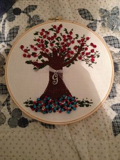Crosstitch Tree of Life