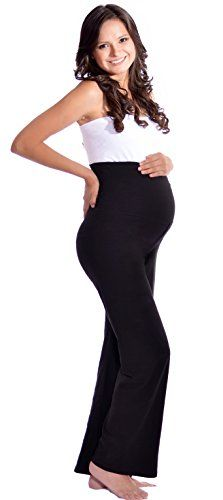 Maternity Yoga Pants LONG MediumBlack >>> Want additional info? Click on the image. (This is an affiliate link and I receive a commission for the sales)