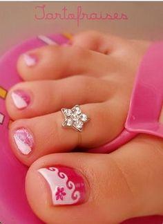 Cute Toe Nail Ideas | Designs: Toen Ail Designs, cute acrylic nail designs nail art, toe ...
