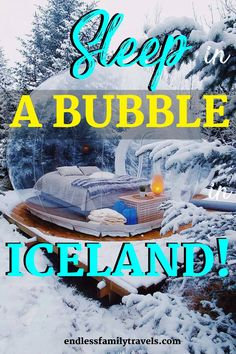 Looking for unique lodging while visiting Iceland? Why not sleep in a bubble under the stars in an igloo hotel - The 5 Million Stars Hotel in Iceland! Winter Family Vacations, Best Family Vacation Spots, Family Travel, Summer Vacations, Vacation Ideas, Sleeping Under The Stars, See The Northern Lights, Travel Reviews, Best Resorts
