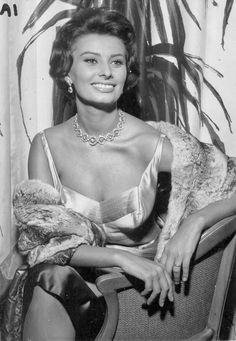Sofia Loren, 50's.