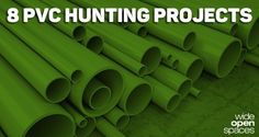 8 Simple PVC Hunting Projects for the Resourceful Sportsman [PICS] - Wide Open Spaces
