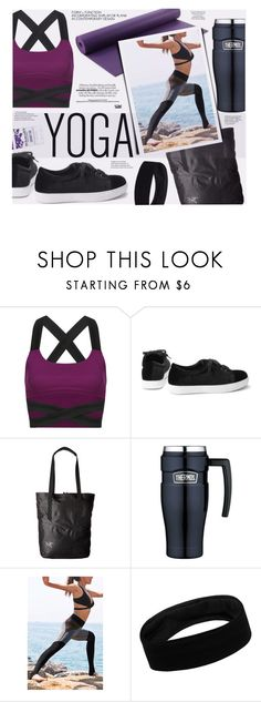 """YOINS-Take The Stylish Straps"" by katarina-blagojevic ❤ liked on Polyvore featuring Arc'teryx, Thermos, Schmidt's, yoins, yoinscollection and loveyoins"