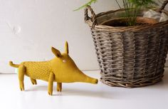 The wild boar. Soft sculpture. Ready to ship. by adatine on Etsy, $29.00
