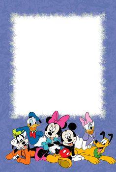 Walt Disney characters photo frame for children
