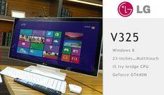 LG all-in-one V325 announced running Windows 8