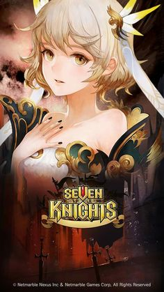Seven Knight, Knight Games, Knight Art, Character Art, Character Design, Beautiful Anime Girl, Fantasy Girl, Game Design, Amazing Art