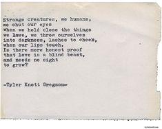 Typewriter Series #2121 by Tyler Knott Gregson