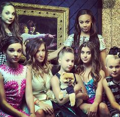 Maddie, Kendall, Gia, Nia, Mackenzie, Kalani and Jojo