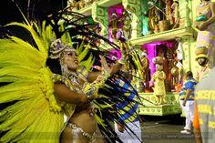 Rio samba carnival doll Unidos da Tijuca
