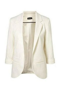 Candy-Color Boy Friend Blazer Without Button - must have!