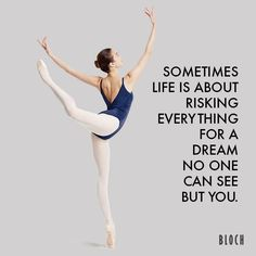"2,711 Likes, 5 Comments - BLOCH EU (@bloch_eu) on Instagram: ""#MondayMotivation: Make your dreams come alive and take that little extra risk! ❤ #Bloch #Quote…"""