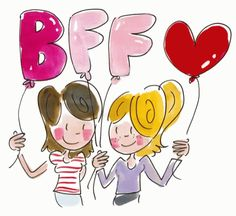 Quotes friendship funny bff bffs ideas for 2019 Bff Drawings, Funny Drawings, Illustration Art Drawing, Funny Illustration, Blond Amsterdam, Drawing School, Best Friends Forever, Funny Babies, Bffs