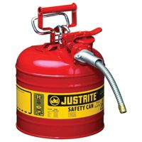 Justrite AccuFlow Type II Safety Fuel Can — 2-Gallon