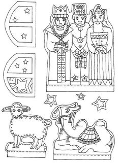 Nativity Craft Ideas Printables Decorations For Kids