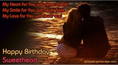 Birthday Wishes Romantic Him ~ Best of happy birthday love quotes for him domoom