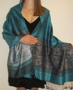Evening pashminas with silk are amazing for evening wear women love the feel and beautiful drape.