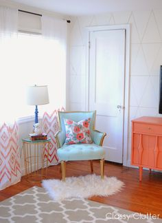 friday diy: $5 ikat sheet curtains! make your own curtains #home #curtain #diy