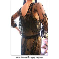 REDUCED 1910s Art Nouveau Dress. Edwardian by VaudevilleGypsy