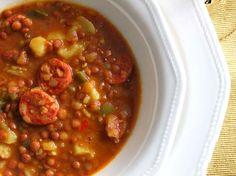 lentejas rapidas microondas1 Micro Onde, Yummy Food, Tasty, Sin Gluten, Chana Masala, Microwave, Chili, Food And Drink, Menu