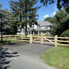 Gate for 3 rail fence