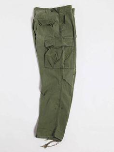 Rock'n Roll Fatigues – Pants#6 MID 60′S VEITNUM B.D.U PANTS – OG107 WIND RESISTANT POPLIN