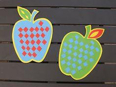 Splish Splash Splatter: Woven Paper Apples