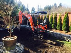 all seasons earthworks landscaping- experts in tight quarters, call today to see how we can help you!