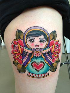 matryoshka tattoo - Hledat Googlem
