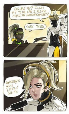Sometimes when you've just had enough (mercy things by coro-chuu)