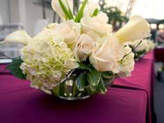 Wedding, Centerpiece - Photo by Ilienne Florals - Project Wedding