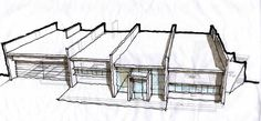 Asparfell 22, a house in Iceland 2005 | ARCHITECTURE SKETCH BLOG