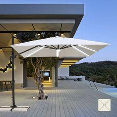 Parasol Aluminium Luxe 3 X 4 M Residence.33 Best Garden Parasols And Gazebos Images