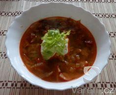 Recept na výbornou houbovou polévku, kterou zvládne každý. Navíc je moc zdravá! Chili, Soup, Ethnic Recipes, Chile, Soups, Chilis