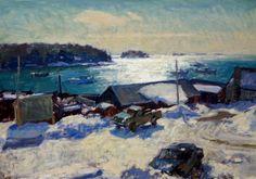 Painter: BEN FENSKE, Grenning Gallery   Hamptons Fine Art, Sag Harbor   Paintings, Sculpture, Bridgehampton, East Hampton, Southampton, New York