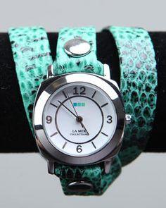 LA MER - Odyssey Wrap Watch
