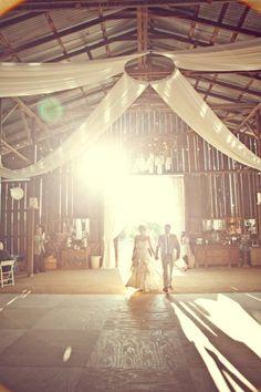 Rustic vintage barn weddings