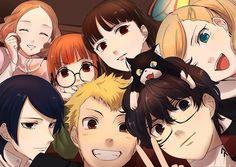 #Persona 5 they are all so precious >w<