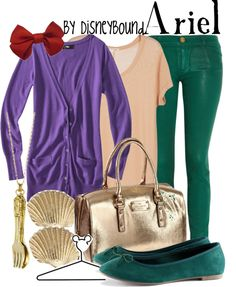 """Ariel"" by lalakay ❤ liked on Polyvore"